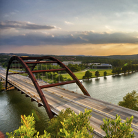 Bridge in Austin Texas